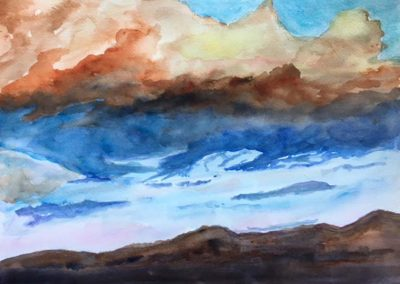 painting by Judith Allison