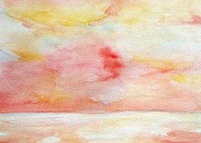 painting by Minori Watanabe
